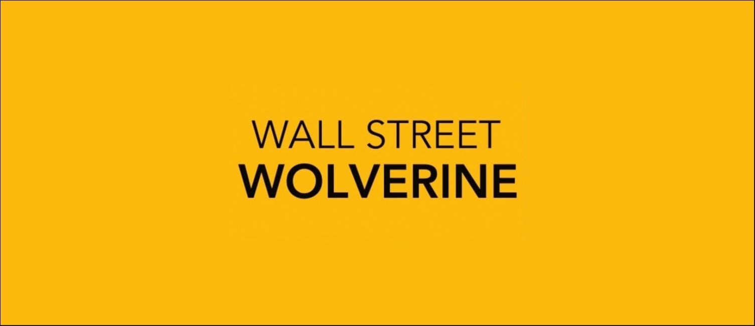 Imagen del Canal Wall Street Wolverine