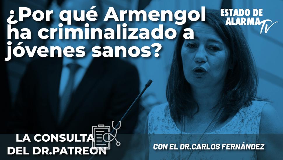 Image del Video: Dr. Patreon: ¿Por qué se ha criminalizado a jóvenes sanos?