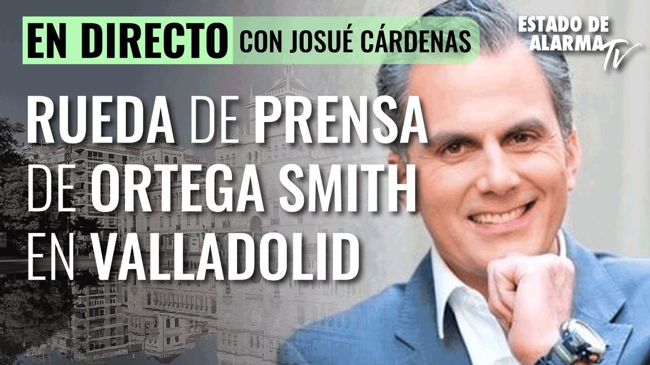 Image del Video: Rueda de prensa de Ortega Smith en Valladolid