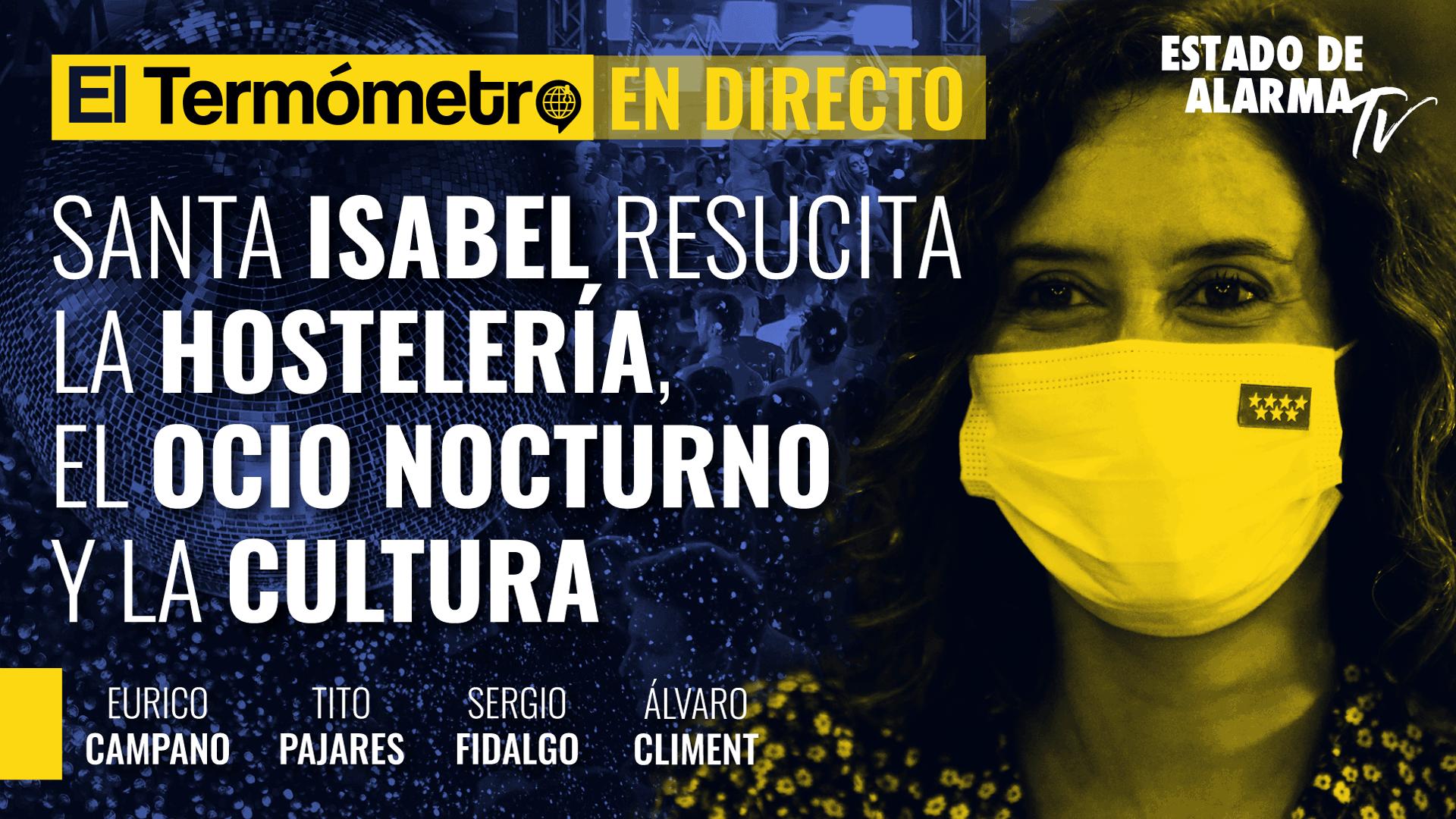Imagen del video: El Termómetro: Santa Isabel resucita la hostelería, el ocio nocturno y la cultura