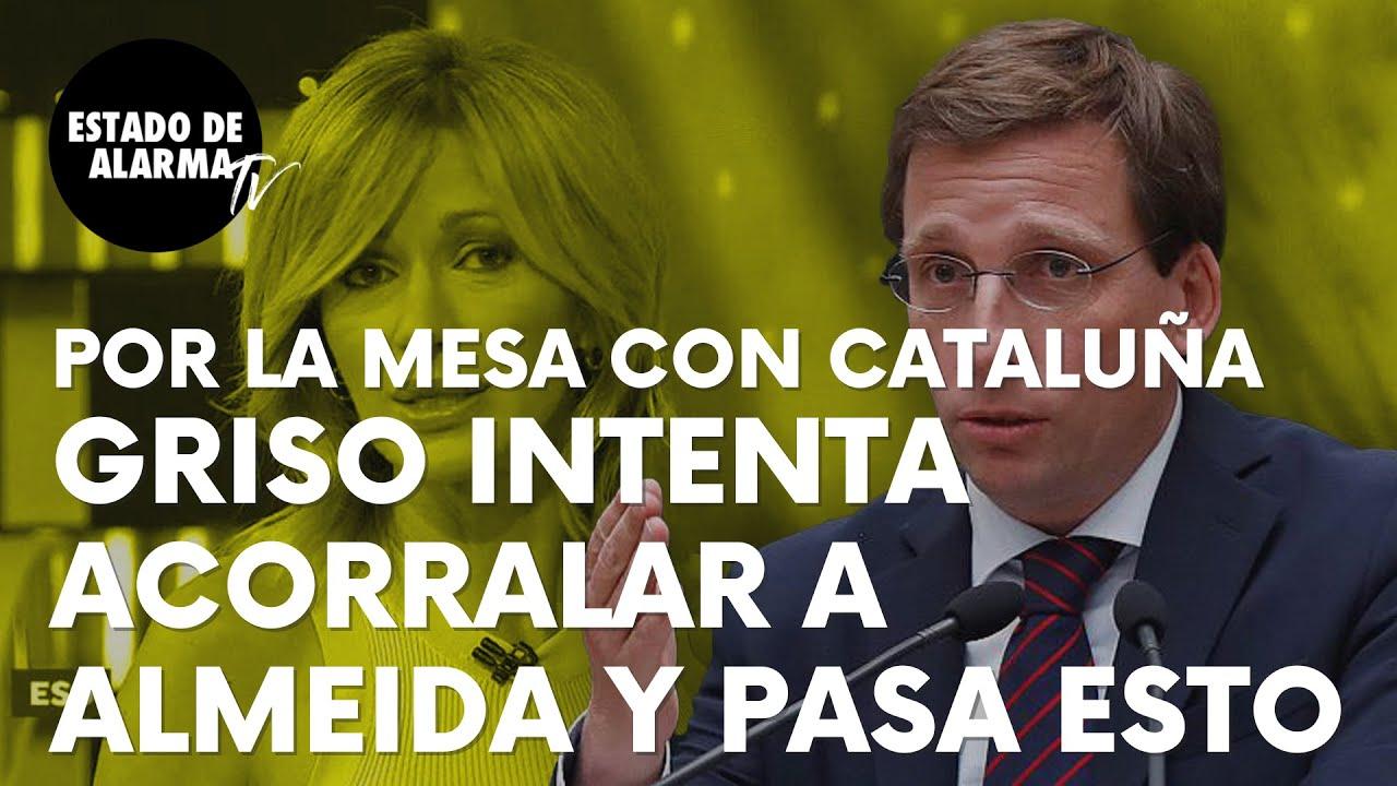 Image del Video: Susanna Griso intenta acorralar a Almeida por Cataluña y pasa esto