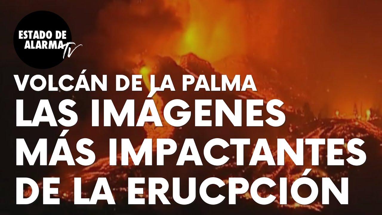 Imagen del video: Las imágenes más impactantes de la erupción del volcán de La Palma