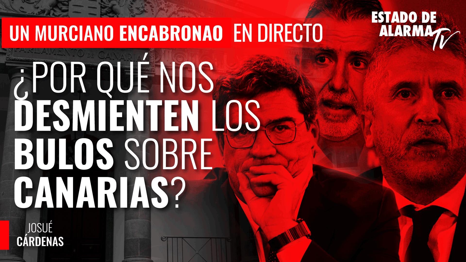 Imagen del video: Un Murciano Encabronao: ¿Por qué nos desmienten los bulos sobre Canarias?; Josué Cárdenas