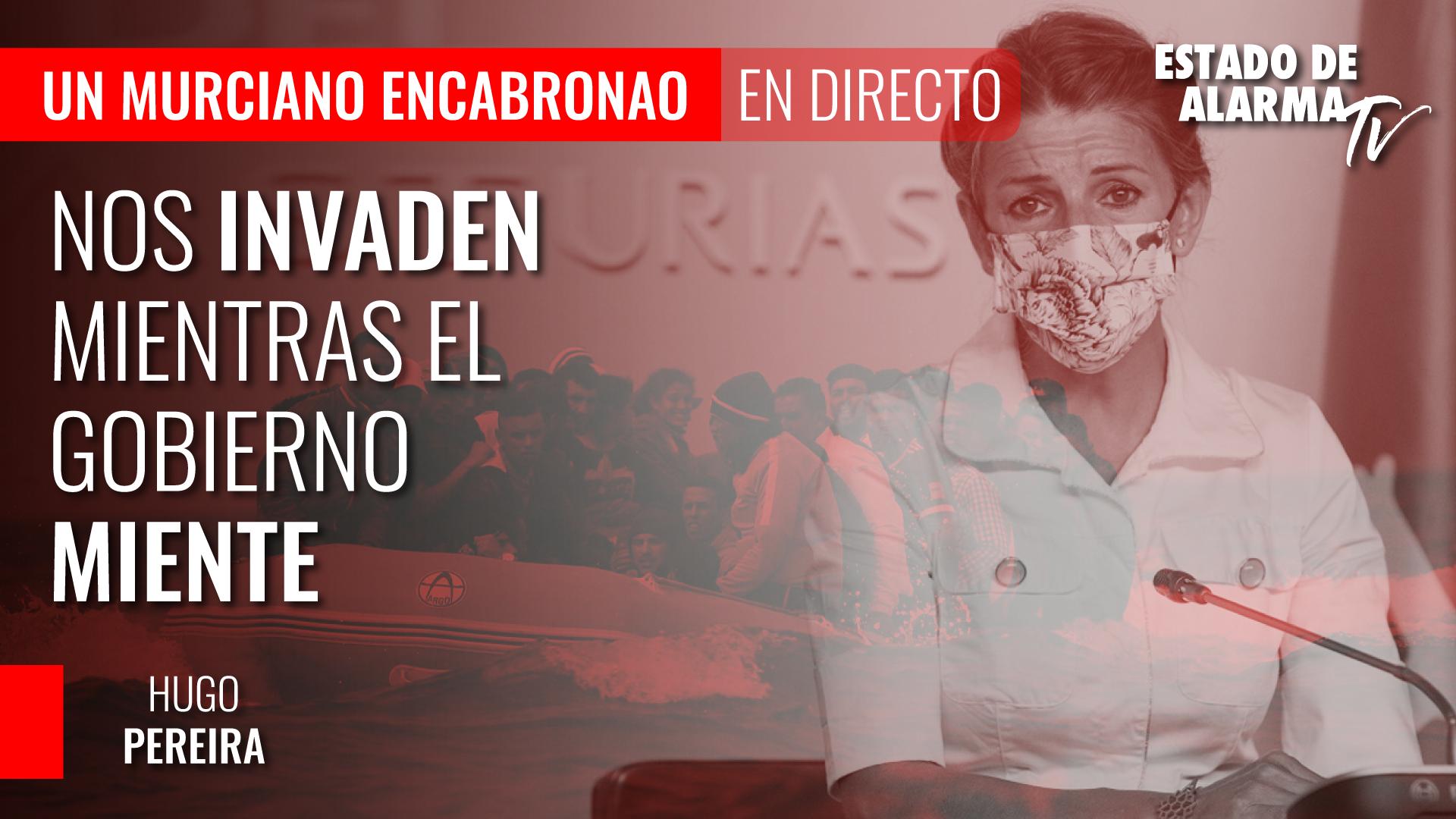 Imagen del video: Un Murciano Encabronao: Nos invaden mientras el gobierno miente