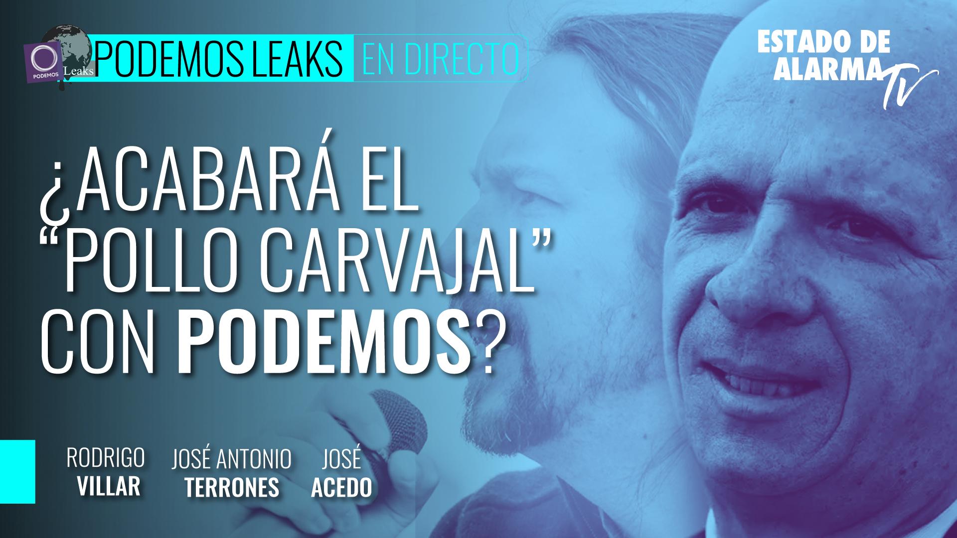 Image del Video: ¿Acabará el 'Pollo Carvajal' con Podemos?