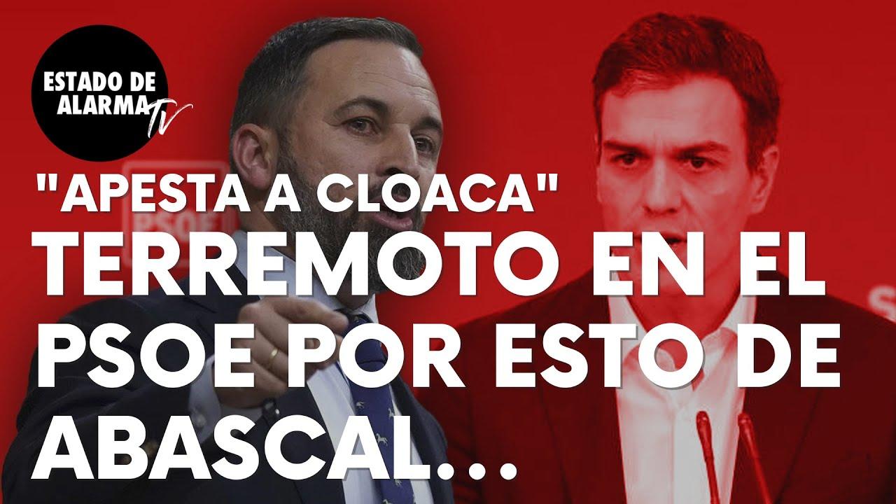 Imagen del video: Terremoto en el PSOE tras esta seria afirmación de Santiago Abascal