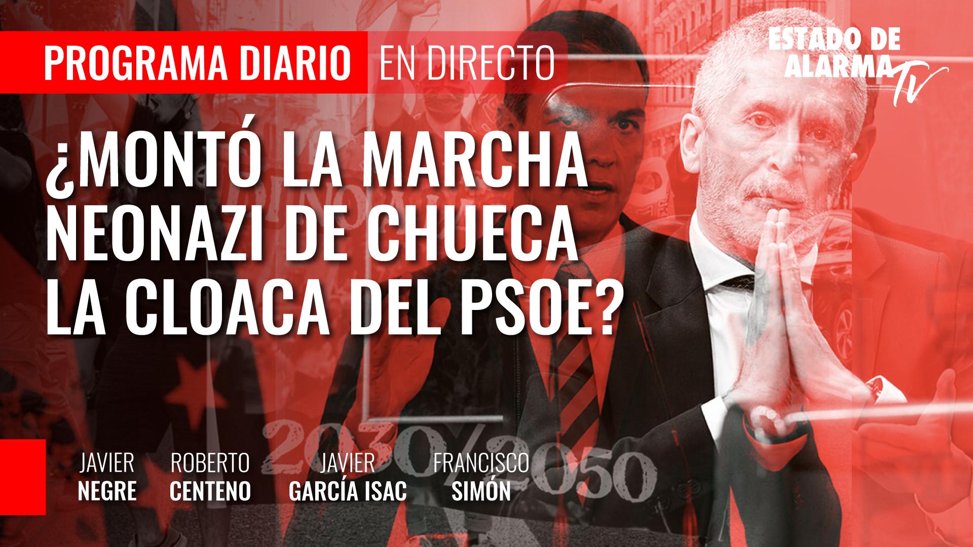 Imagen del video: ¿Montó la marcha neonazi de Chueca la cloaca del PSOE?