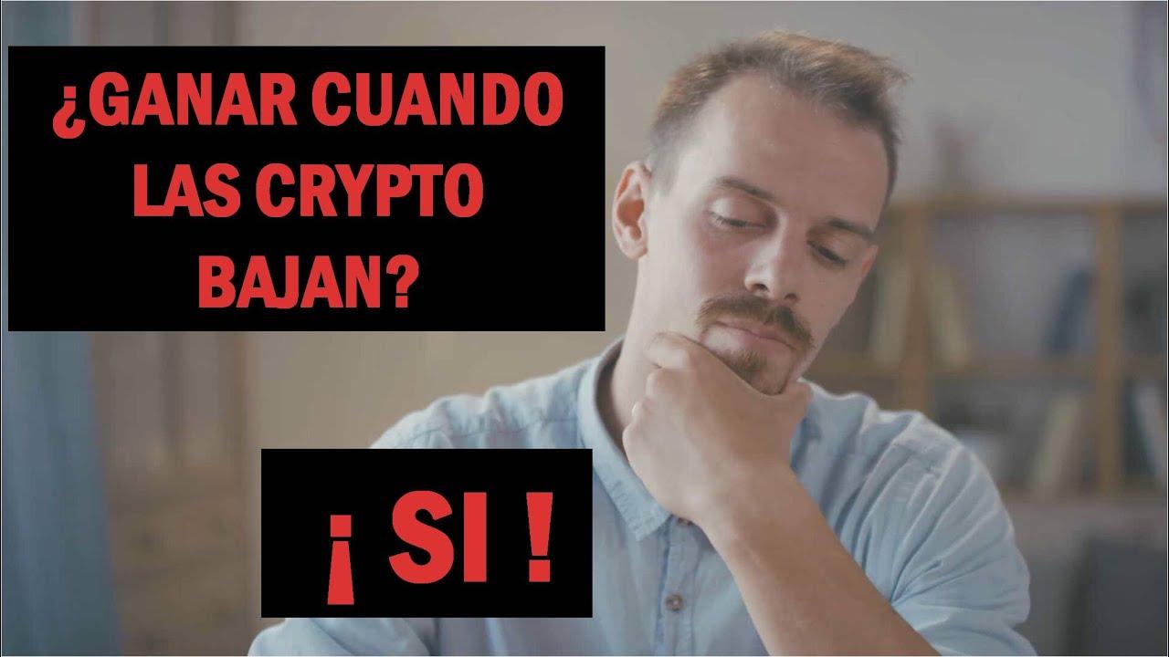 Imagen del video: CRIPTOMONEDAS: Cómo ganar dinero con el mercado bajando