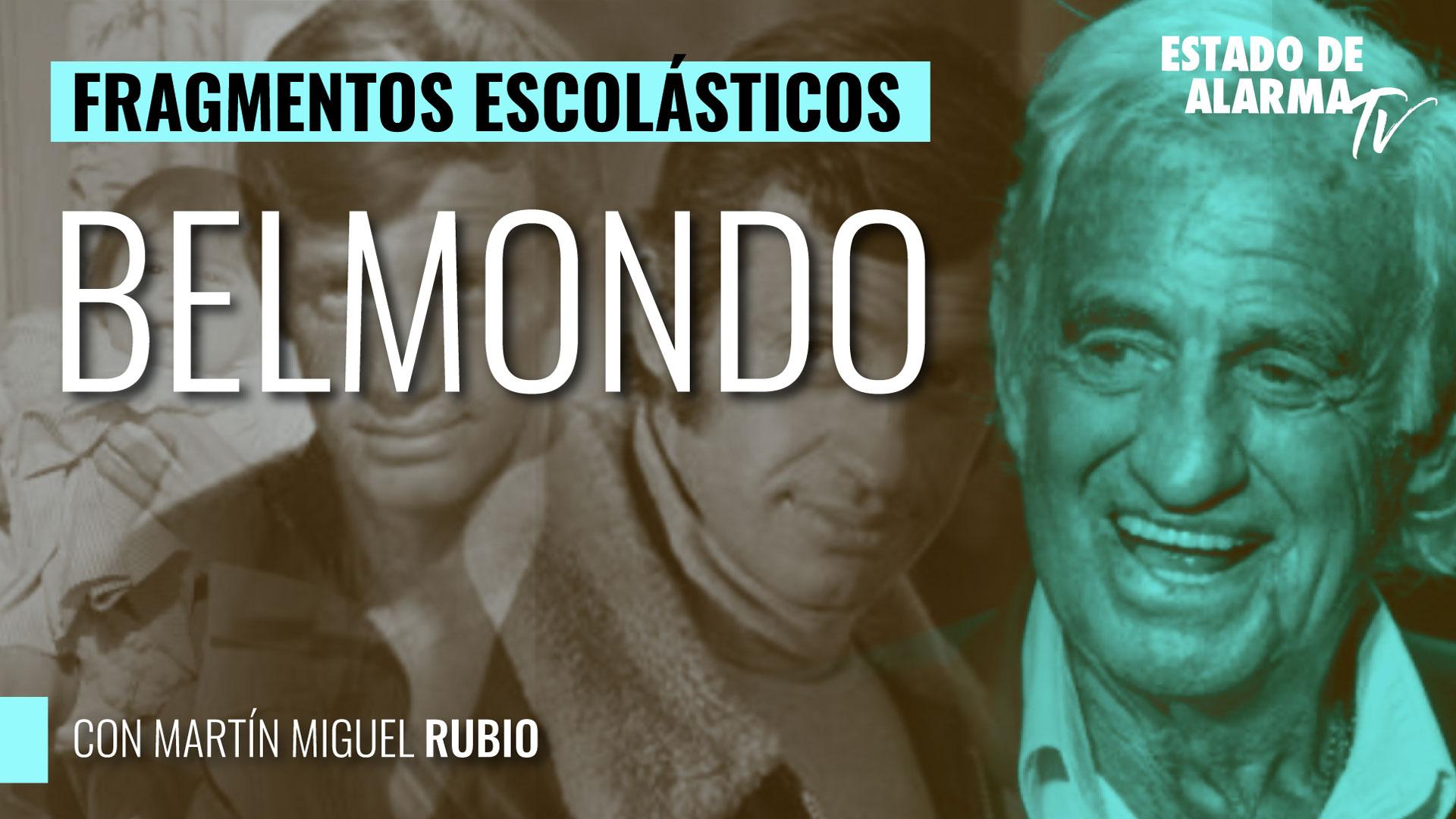 Imagen del video: Belmondo; Fragmentos Escolásticos con Martín Miguel Rubio