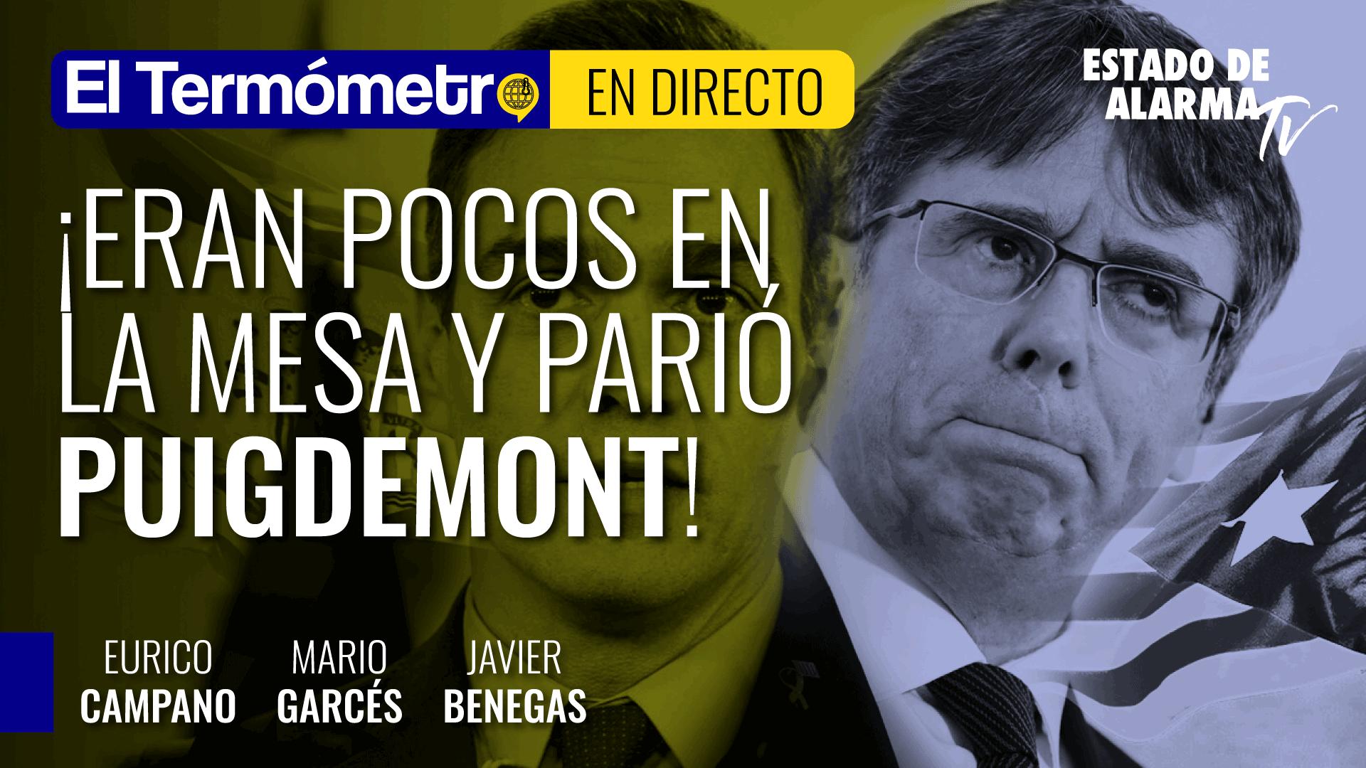 Imagen del video: El Termómetro: ¡Eran pocos en la mesa y parió Puigdemont!