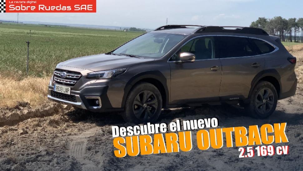 Imagen del video: MOTOR: Probamos el nuevo Subaru Outback 2.5 Trek 169 CV