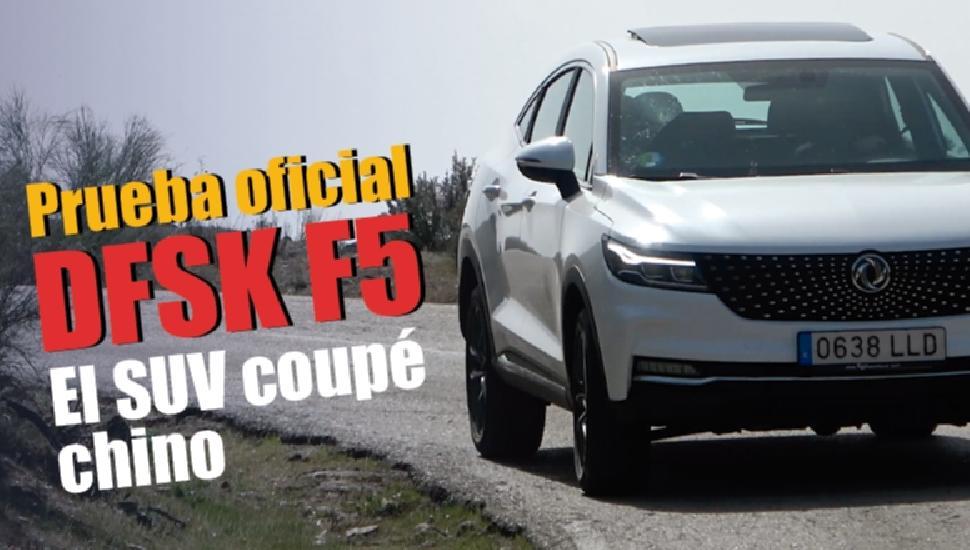 Imagen del video: Probamos el DFSK F5: el SUV coupé chino