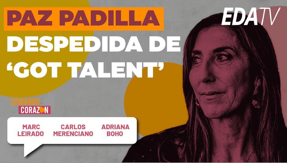 Imagen del video: Paz Padilla despedida de 'Got Talent'