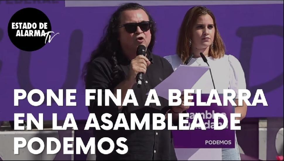 Imagen del video: Un candidato a liderar Podemos pone fina a Ione Belarra