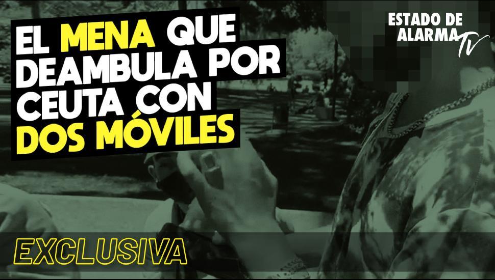 Imagen del video: EXCLUSIVA: El mena que deambula por Ceuta con dos móviles