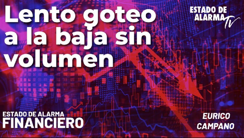 Image del Video: EDA Financiero: Lento goteo a la baja sin volumen; Directo con Eurico Campano