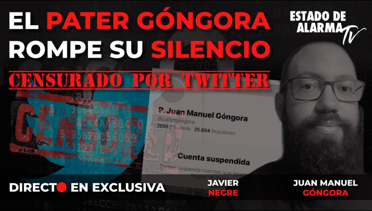 Imagen del video: DIRECTO en EXCLUSIVA El PATER GÓNGORA rompe su SILENCIO   SUSPENDIDO en TWITTER