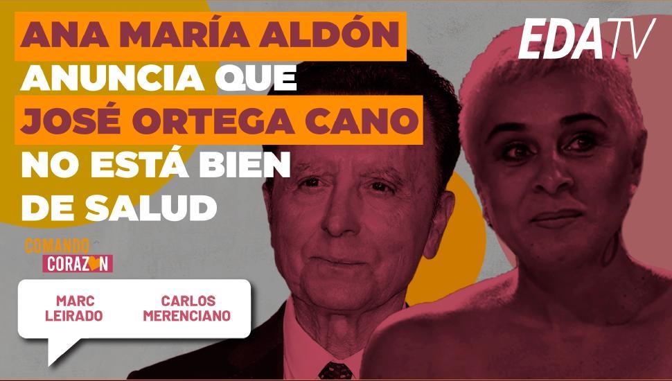 Imagen del video: Ana María Aldón anuncia que José Ortega Cano no está bien de salud