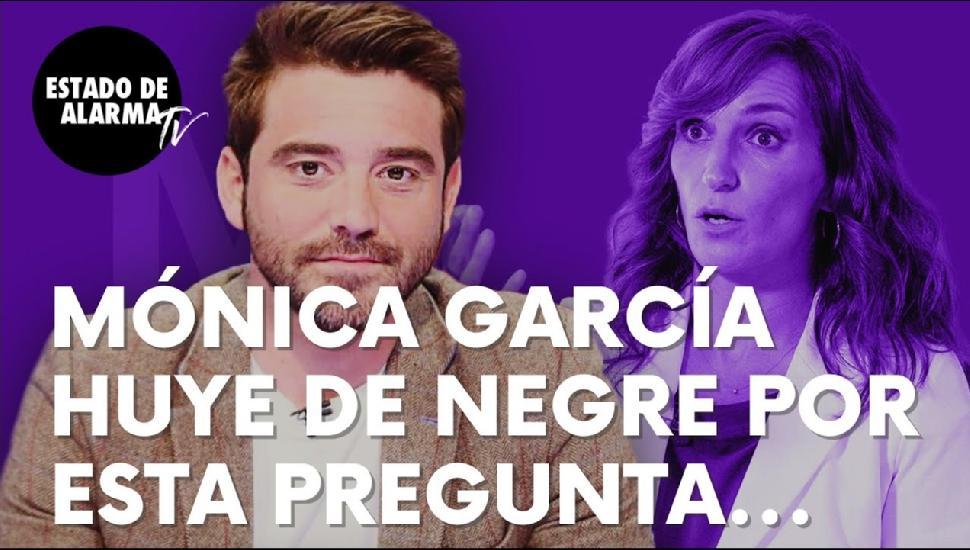 Imagen del video: La pregunta de Negre a Mónica García que la hace huir para no responder