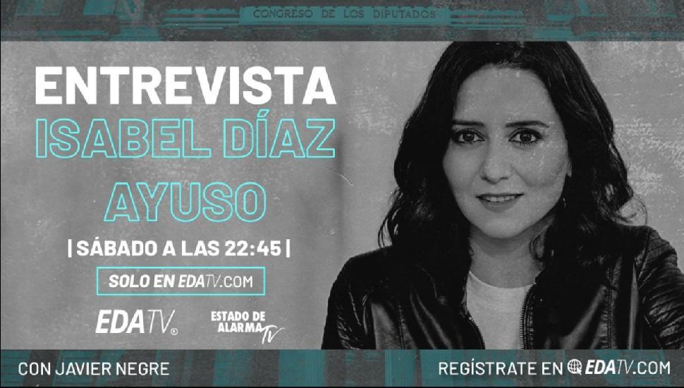 Imagen del video: ENTREVISTA EXCLUSIVA con Isabel Díaz Ayuso